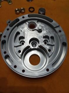 Handle side plate