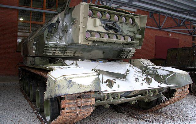One of the surviving 1K17 laser tanks. Photograph by Vitaly V. Kuzmin via Wikimedia Commons.