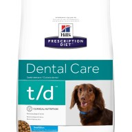 HILLS PRESCRIPTION DIET CANINO t/d SB 5LB
