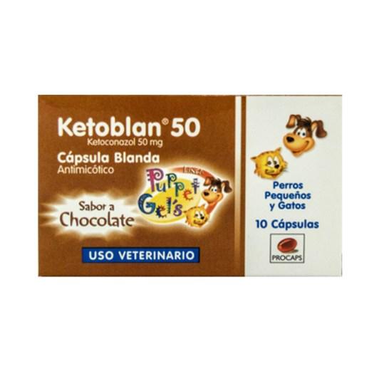 KETOBLAN 50 mg caja x 10 Capsulas blandas