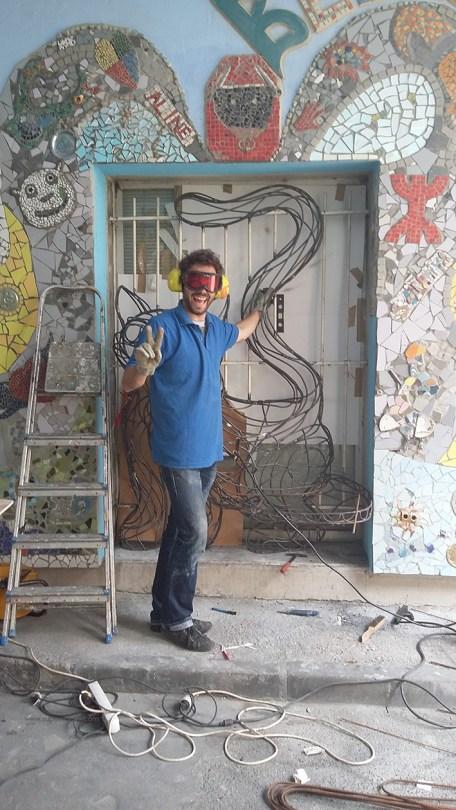 chat piat sculpture metal sara renaud supervolum (20)