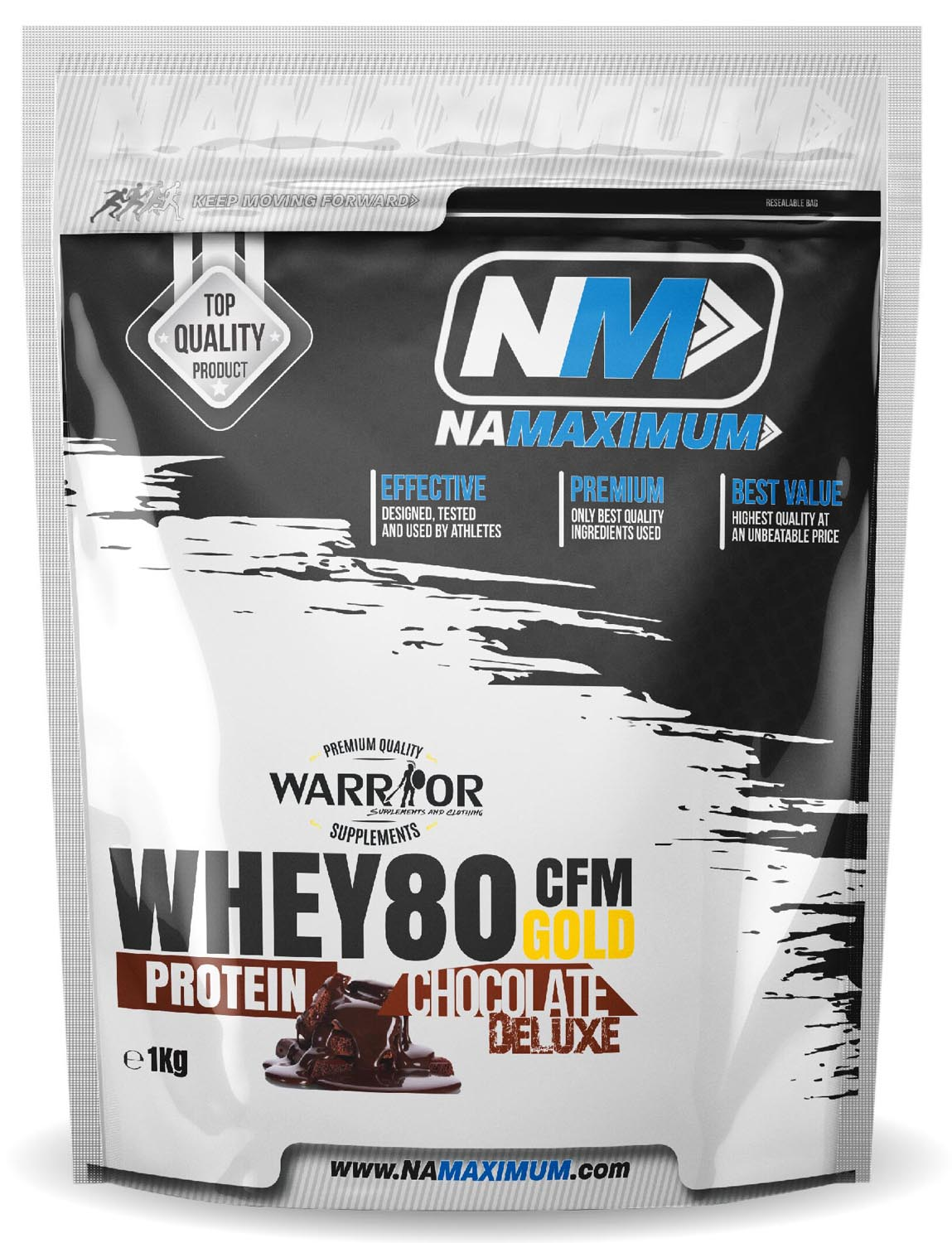 WHEY 80 CFM GOLD CHOCOLATE – ČOKOLÁDA