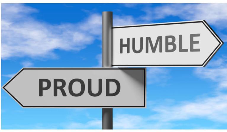 faire preuve d'humilité pour réussir