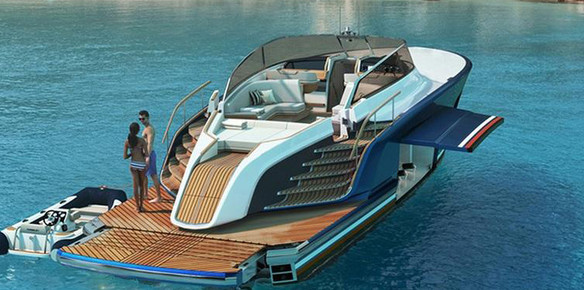Rolls Royce-Powered Yacht Offers..