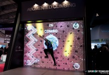 Valo Motion Augmented Climbing Wall