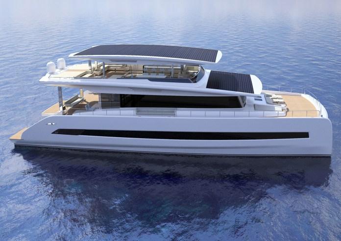 Silent 80 - Solar Panel Yacht