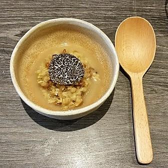 Pine Mushroom Porridge, Moliterno al Tartufo