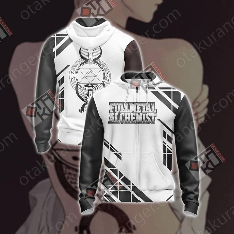 Fullmetal Alchemist - Riza Hawkeye Tattoo Unisex Zip Up ...