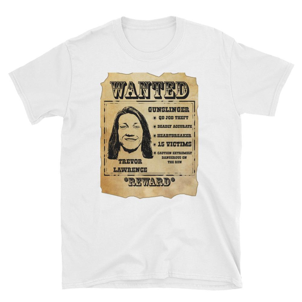 Wanted Trevor Lawrence Clemson Tigers T-Shirt Trevor ...
