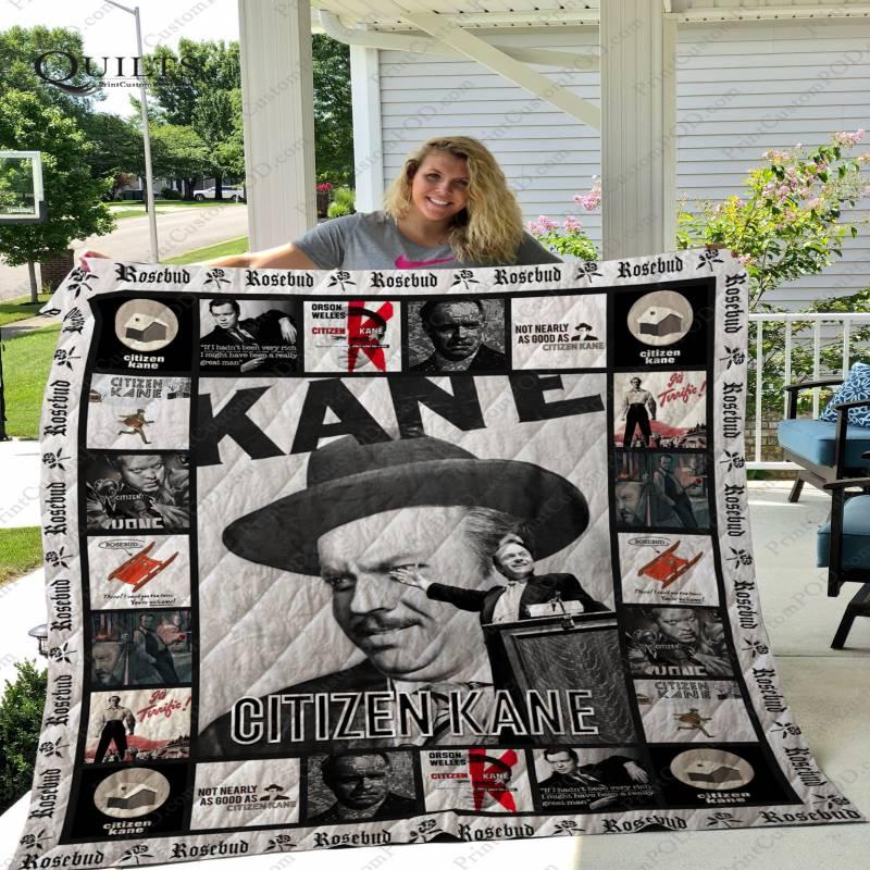 ADU- Citizen Kane Quilt Blanket Ver 3