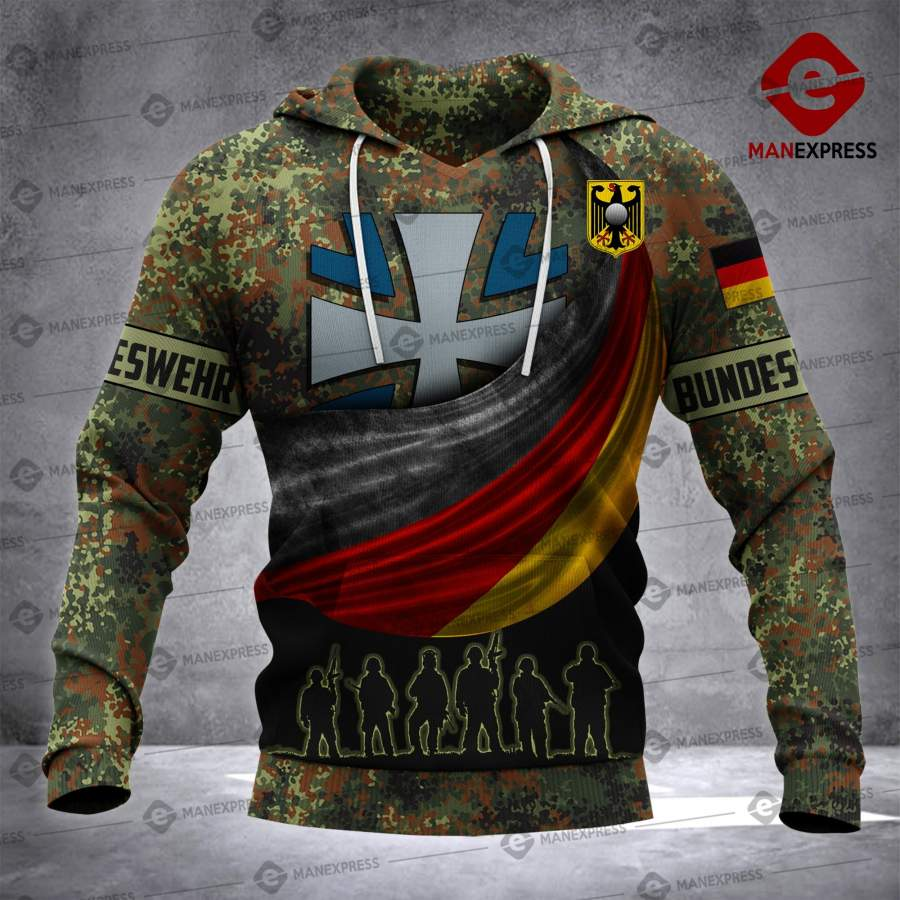 Bundeswehr Warriors Cbn Germany All-over Print Unisex