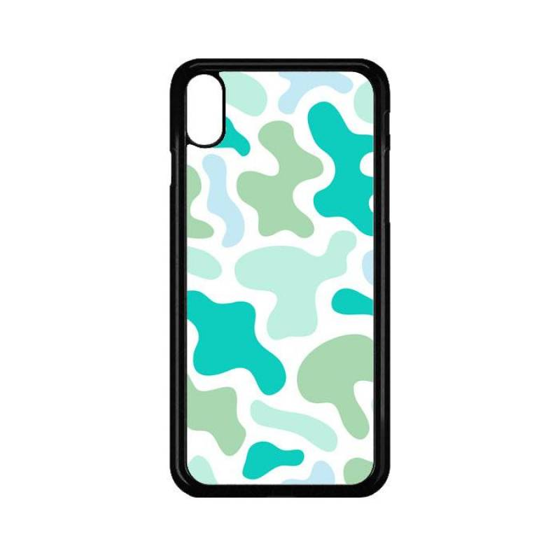 Abstract Shape Colorful Blue IPhone XS Max Case