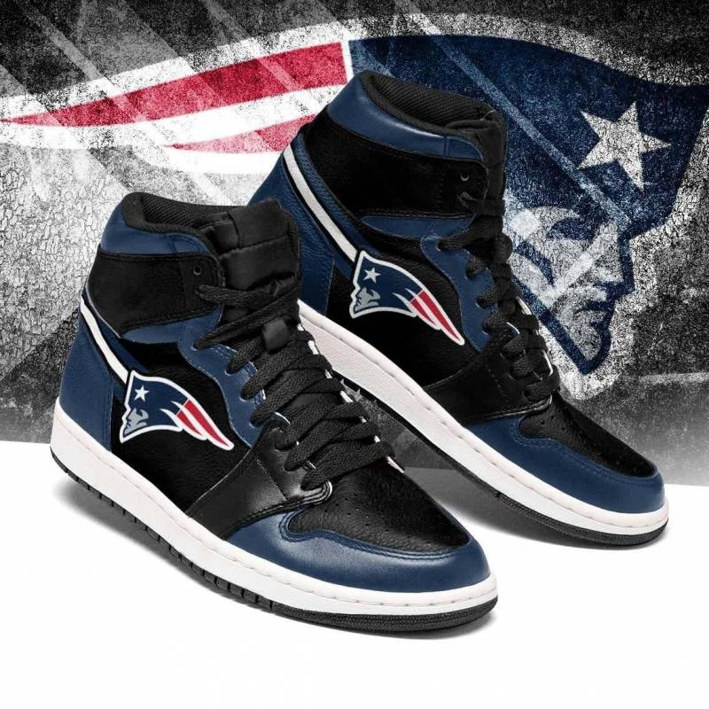 New England Patriots NFL Jordan Sneakers Christmas Gift ...