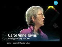 Carol Anne Tavris: Disonancia Cognitiva