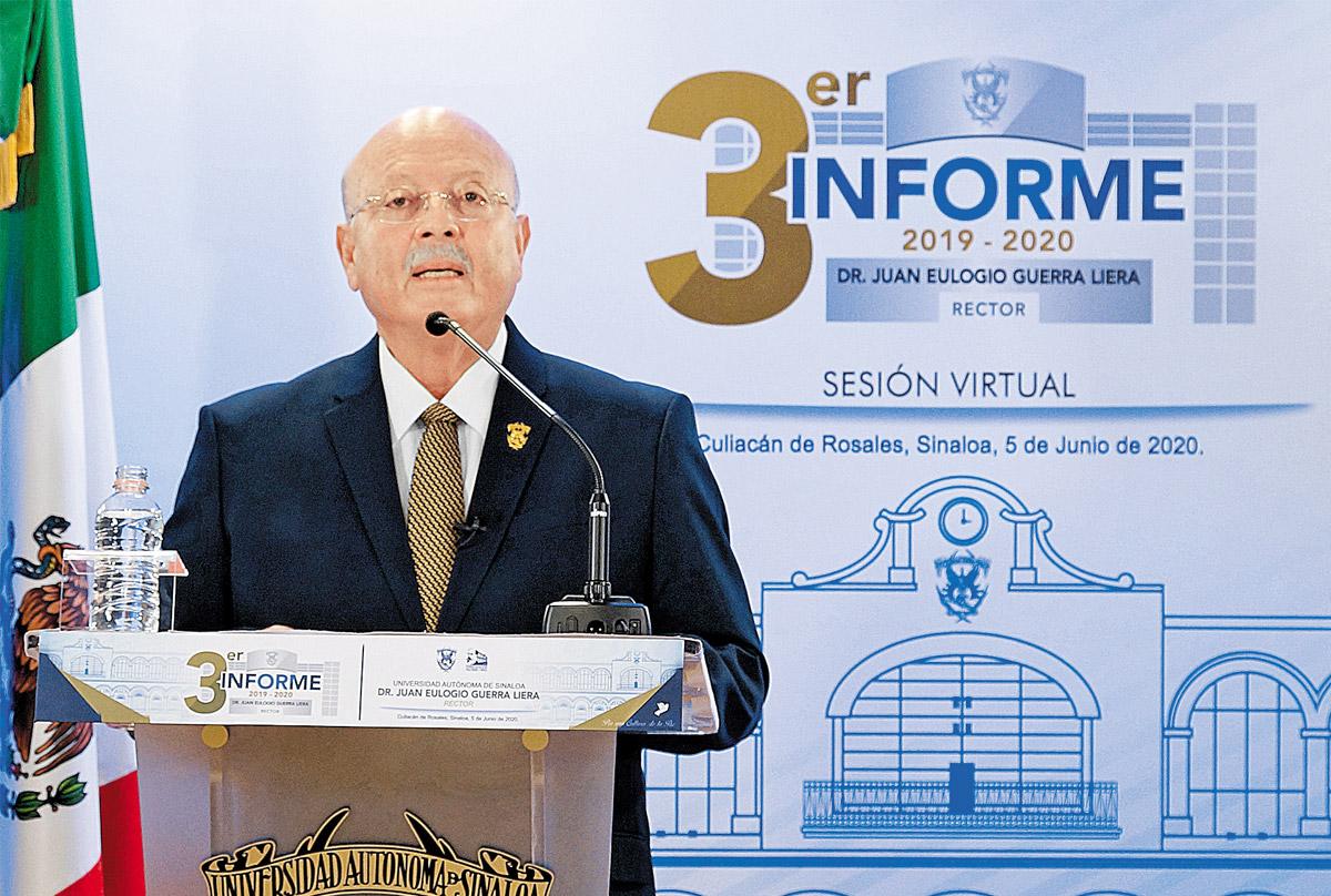 UAS: calidad educativa, compromiso con la juventud y solidaridad con la población