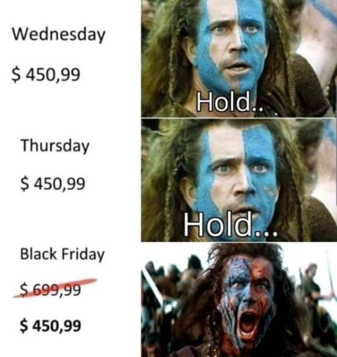 Braveheart Black Friday Meme, Grill Memoirs Easy Tasty Simple Barbecue Turkey and Why IDGAF about Black Friday SUPP UP, cheat meals SUPP UP, cheat meal ideas, SUPP UP Grill Memoirs Easy Tasty Simple Barbecue Turkey and Why IDGAF about Black Friday, Grill Memoirs SUPP UP, Thanksgiving leftovers, Thanksgiving leftover ideas, turkey leftovers, turkey leg recipes, turkey thigh recipes, barbecue turkey recipes, bbq turkey recipes, Black Friday, Black Friday SUPP UP, SUPP UP Blog, SUPP UP books, SUPP UP Sol Rego, Sol Rego, Clean Snacking SUPP UP, SUPP UP No Bull Whole Food Military Nutrition On The Go, SUPP UP No Bull Whole Food Military Nutrition At Home, SUPP UP No Bull Gym In A Bag Workout Guide, SUPP UP Whey Protein, SUPP UP Supplements, military nutrition, SUPP UP Guides, SUPP UP Military nutrition Guide, military, veterans, military muscle, army nutrition, navy nutrition, air force nutrition, military diet, Spec Ops nutrition