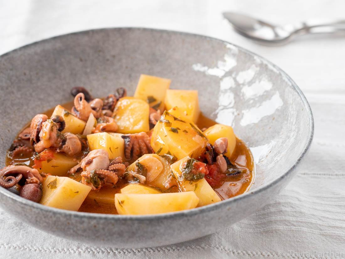 Kartoffel-Pulpo-Eintopf