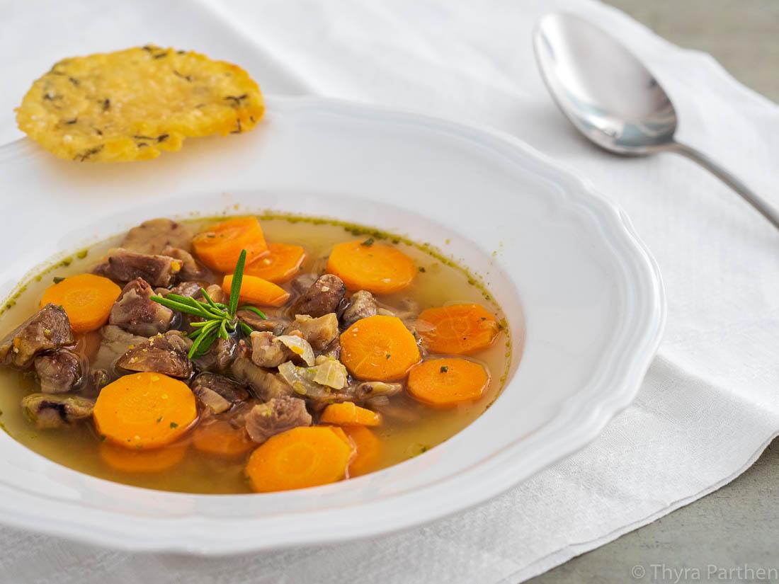 Maronen-Karotten-Suppe