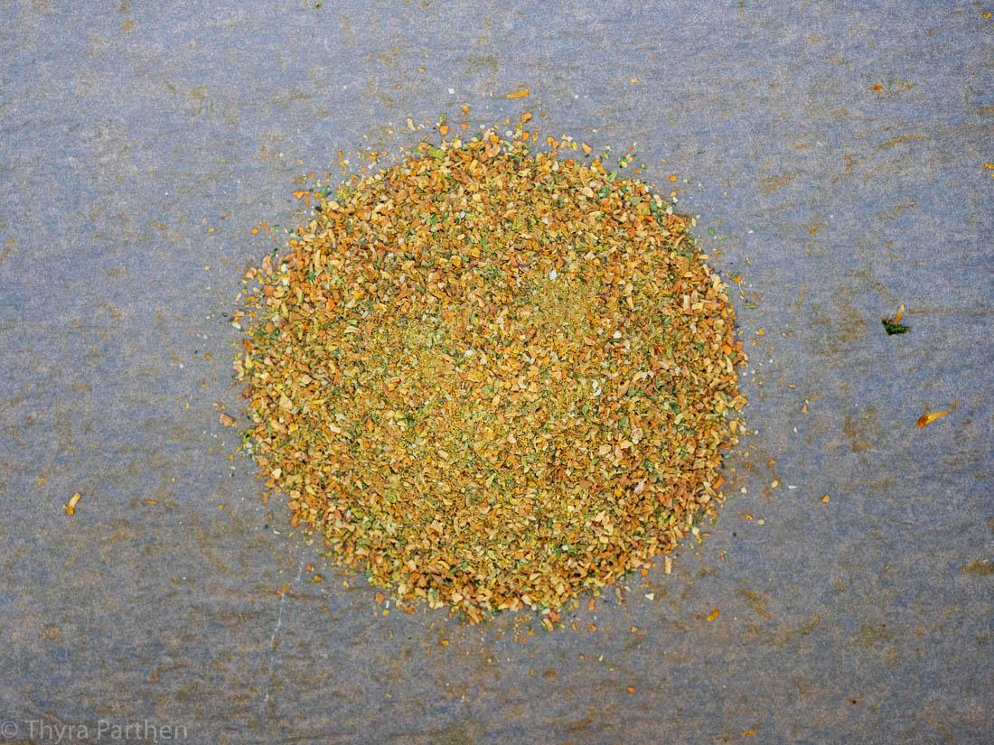 Gemüsebrühe-Pulver selber machen