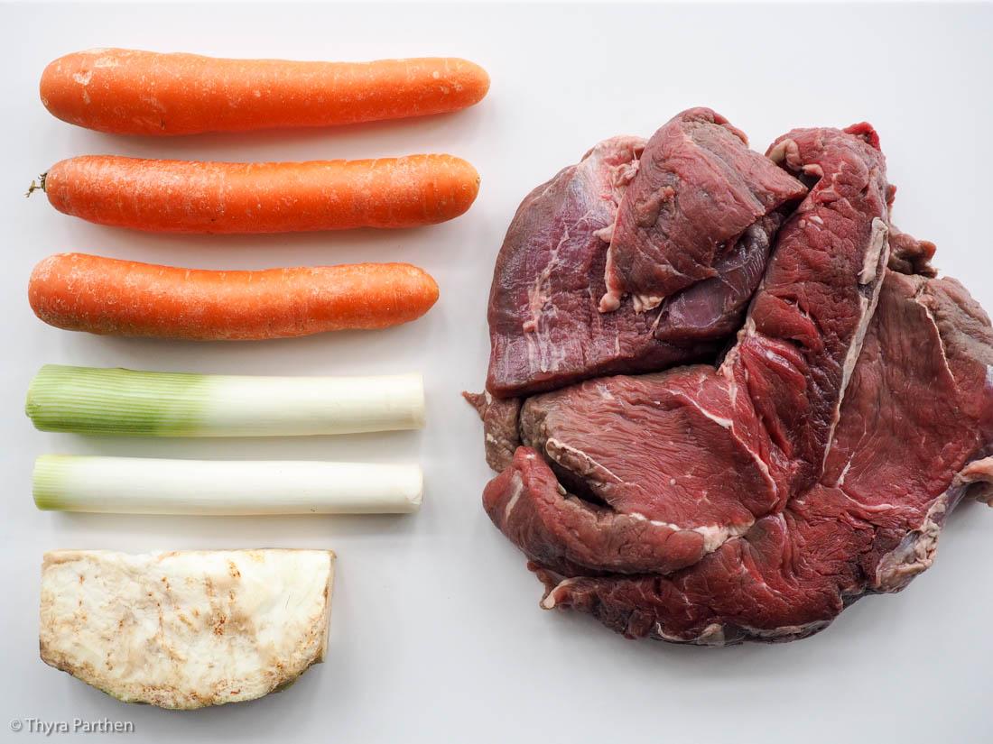 Rinderbrühe selber kochen