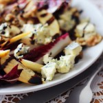 Salads are for winter too check out this Griddled Chicory Apple and Stilton Salad recipe from Supper in the Suburbs