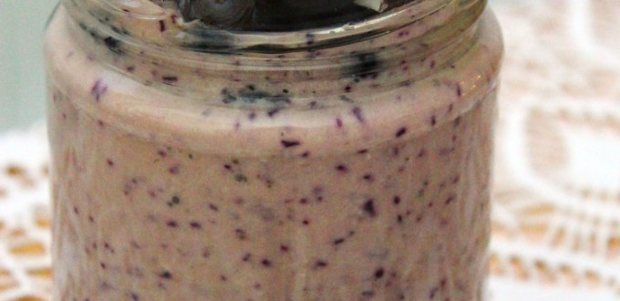Make this Blueberry Banana and Coconut Smoothie Recipe for your breakfast today its delicious and filling