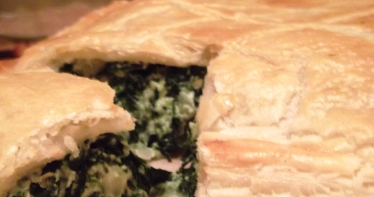 Christmas Buffet – Spinach and Ricotta Pie