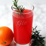 Blood Orange and Gin Fizz a fun and fruity seasonal cocktail. Get the recipe at Supper in the Suburbs!