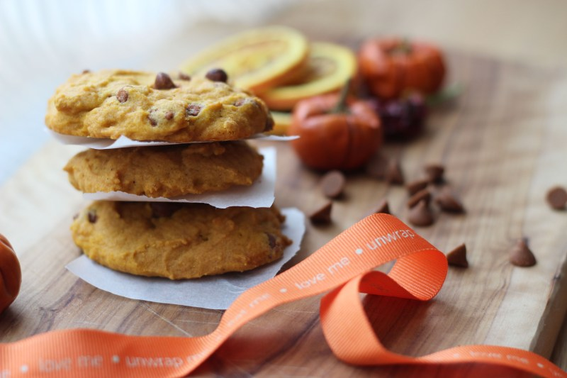 3. Pumpkin Cookie