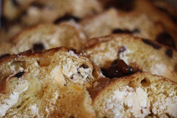 Leftover Mincemeat and Panettone Bread and Butter Pudding