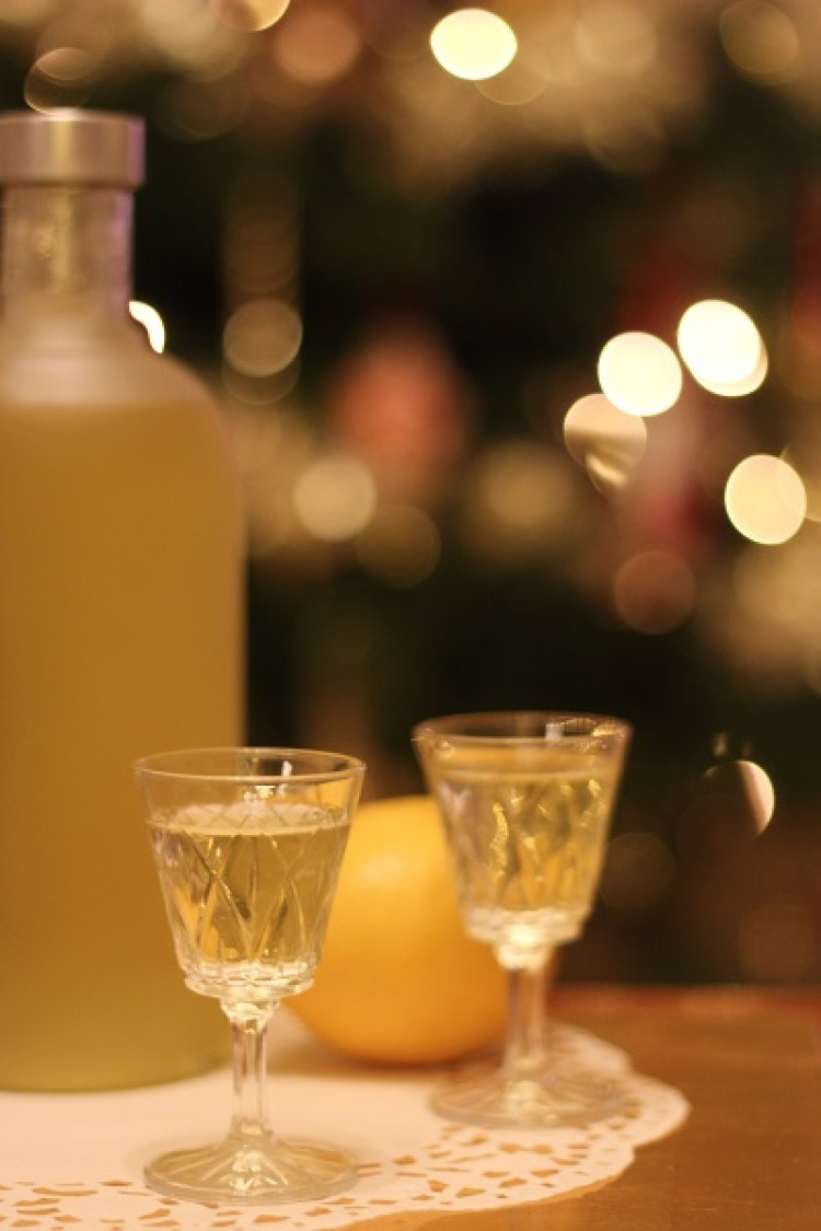 Limoncello glasses
