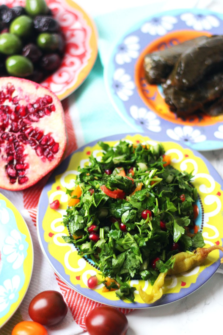 Tabbouleh is a delicious herb packed salad which forms a cornerstone of Middle Eastern Cuisine! Get the recipe at Supper in the Suburbs.