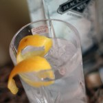 A Blackwater Distillery No5 London Dry Gin and Tonic with a twist of lemon zest