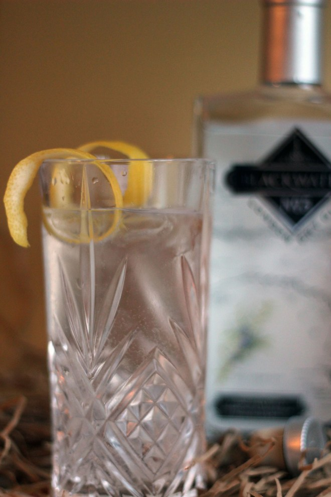 A long cool G&T with Blackwater Distillery No5 London Dry Gin