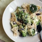 Broccoli and Raisin Pasta Salad with Bow Ties