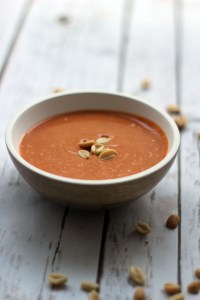 Peanut Soup recipe at Supper in the Suburbs