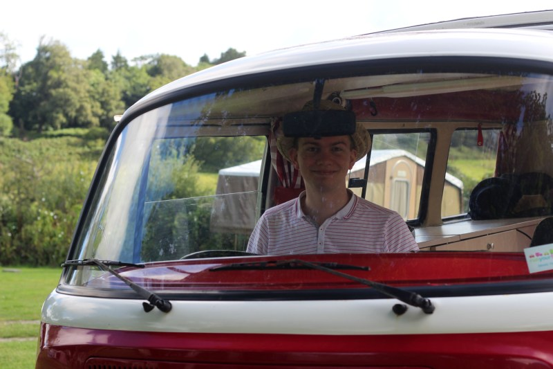 Driving the camper