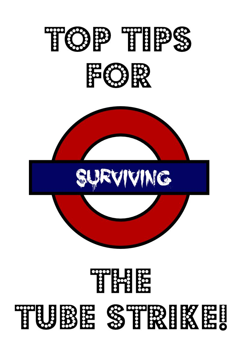 4 Tips for Surviving a Tube Strike
