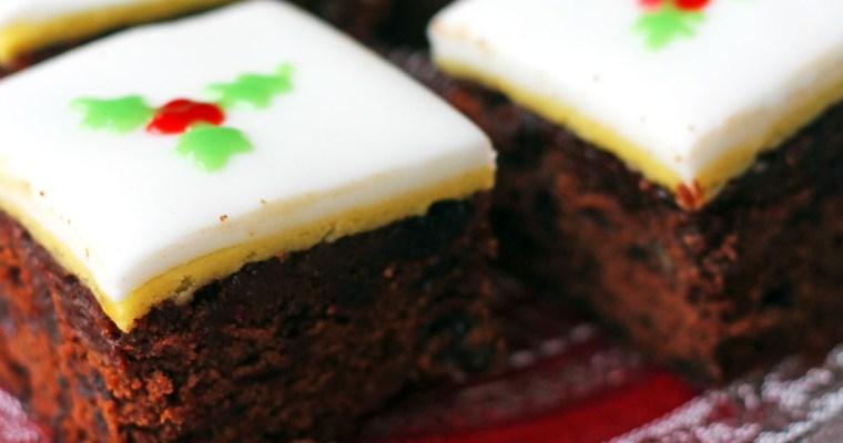 Christmas Chocolate and Orange Fruitcake