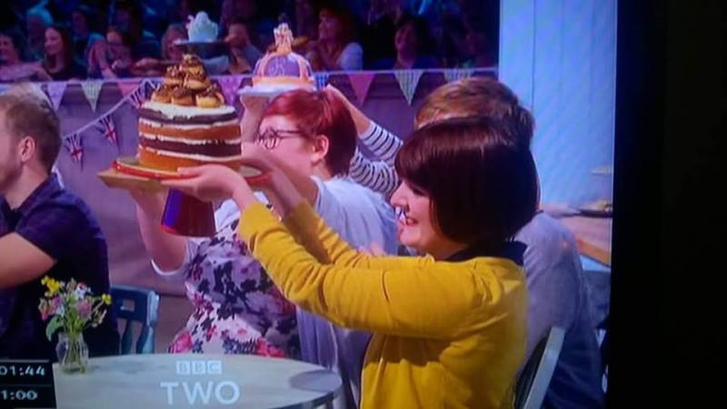 A great british bake off filming