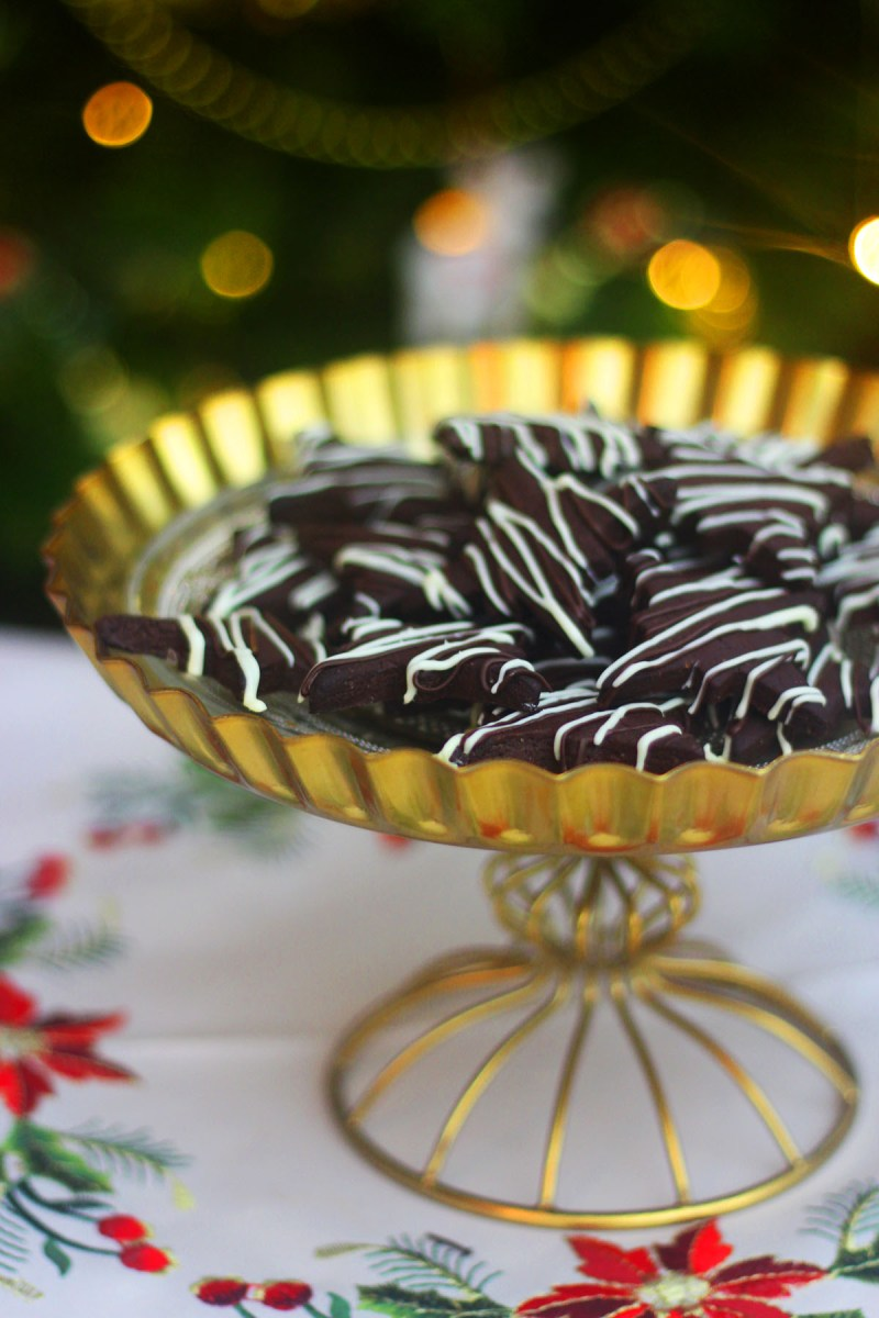 Dark Chocolate and Peppermint Cookies are a sweet treat everyone will love this Christmas