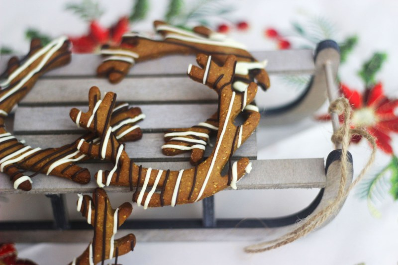 These Reindeer Antler Lebkuchen are a fun take on a German classic Find out how to make them on Supper in the Suburbs