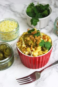 Once you've had this over the top Mexican Mac and Cheese you'll never go back find the recipe at Supper in the Suburbs
