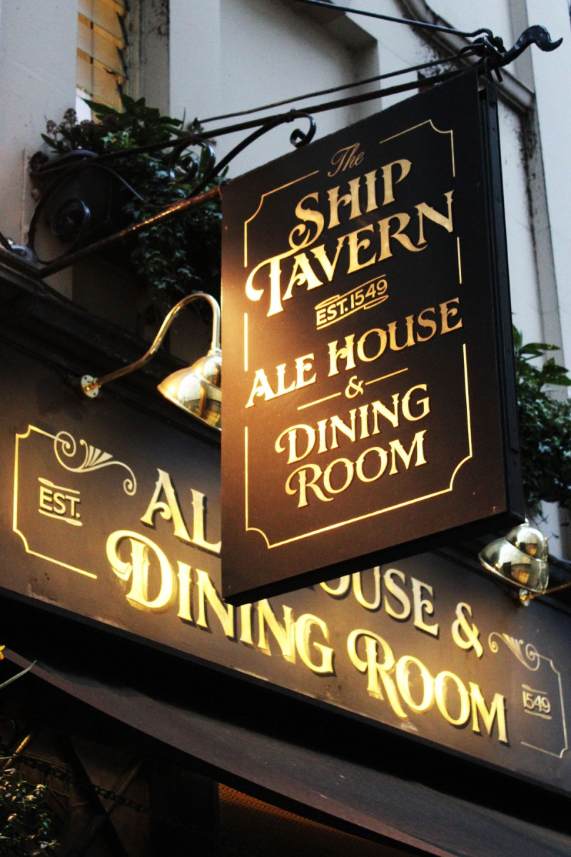 The Ship Tavern Holborn
