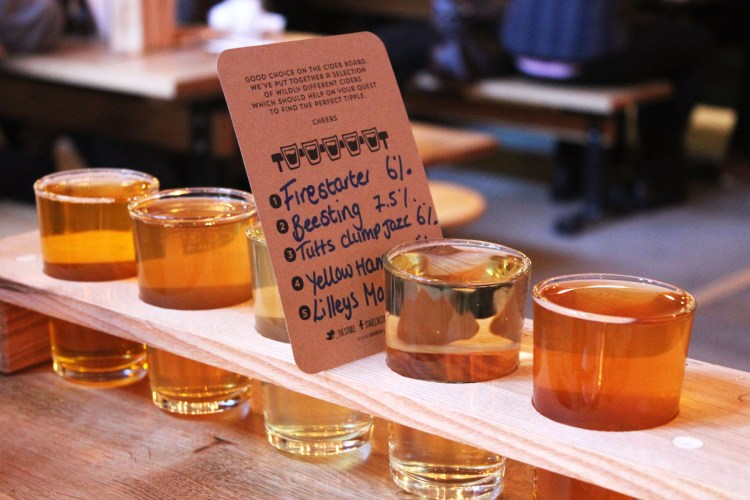 Cider tasting no 2 - The Stable, Whitechapel