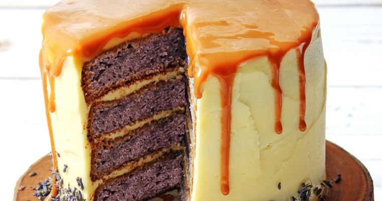 Lavender and Honey Layer Cake