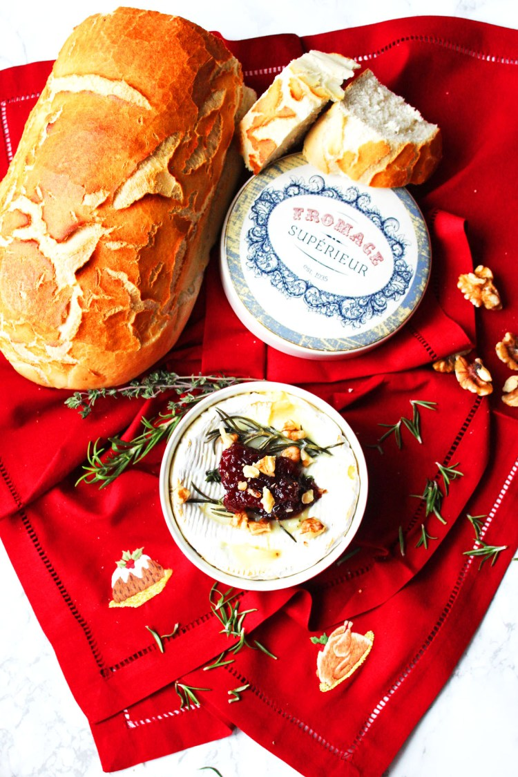 I love this Festive Baked Camembert with Walnuts and Cranberry Sauce. Perfect for adding to a cheeseboard, buffet or at the end of the Christmas dinner. Get the recipe at Supper in the Suburbs