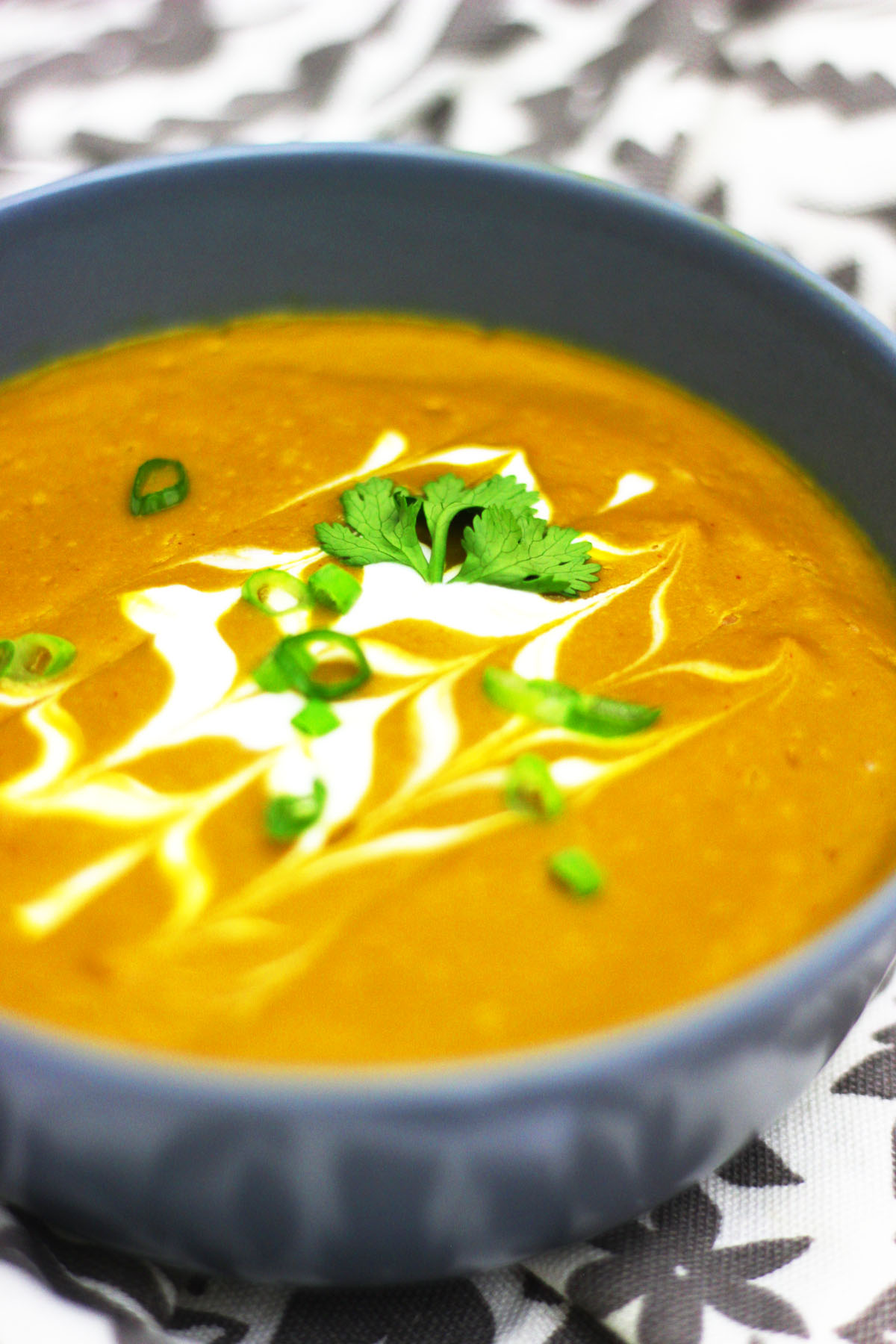 This Sweet Potato and chipotle Soup can easily be made in a vitamix ...