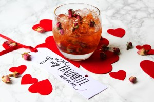 My sweet and delicate Rose Caipirinha is the perfect valentines day cocktail. This recipe is just right to serve two. Peace and love!