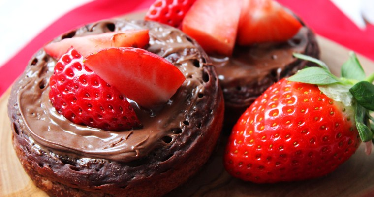 Chocolate Crumpets
